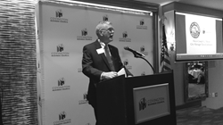 Mayor Meyer was featured speaker at the Covington Business Council Monthly Meeting