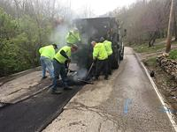 Wayman Branch Road repaired, to re-open Wednesday