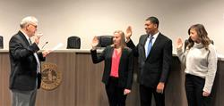 Covington swears in 3 police officers