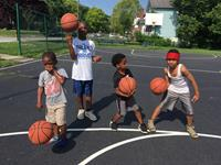 Hoops clinic for Covington youth