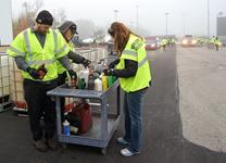 Free drop-off for household hazardous waste