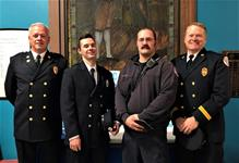 Fire Department promotes from within