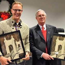 City thanks Commissioners Huizenga, Wells as 'champions' of Covington