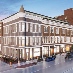 YMCA future: Hotel Covington addition