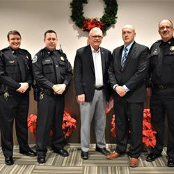Covington swears in new police officer