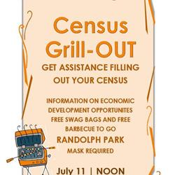 Census 'party' Saturday at Randolph Park