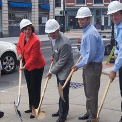 Mutual Building Breaks Ground