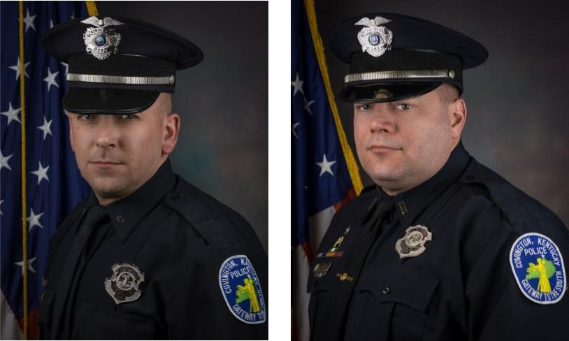 Covington PD promotes two