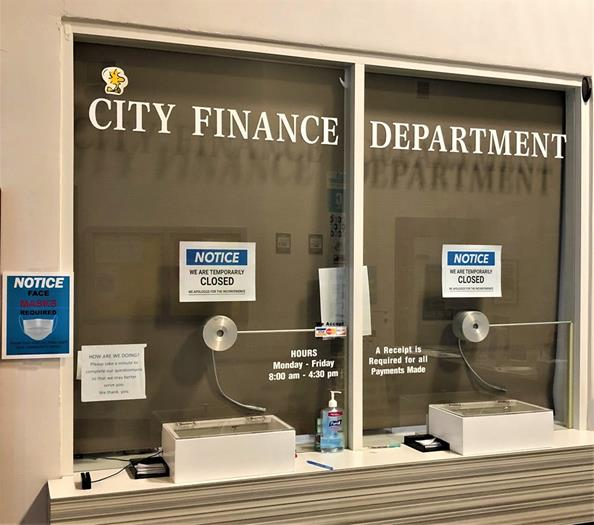 Finance window closed until Monday