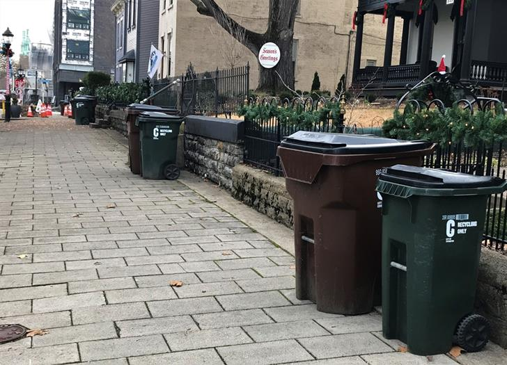 New Year's Day trash pickup delayed a day