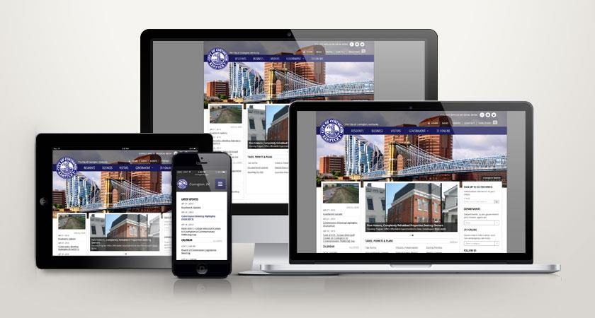 The City of Covington Launches New Website