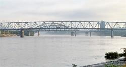 Dye test to turn Ohio River red