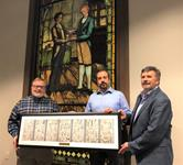 'Epic of Time ...' mural commemorated in frame