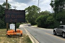 Northbound Amsterdam Road closing Monday