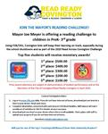 Reading for $$$: Mayor's challenge extended