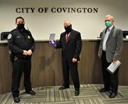 New Covington officer has 25 years' experience