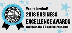 Join Us for the 2018 Business Excellence Awards on May 9, RSVP Today!