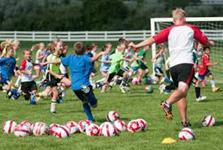 Challenger Sports Brings British Soccer Camp to Bill Cappel Youth Sports Complex