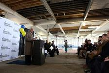 Gov. Beshear kicks off renovation project for new Kentucky Career Center in Covington