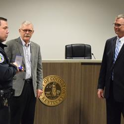 New Covington officer a familiar face