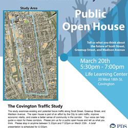 Traffic open house tonight