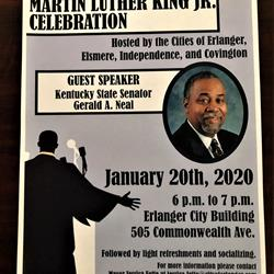 City Hall closed Monday; MLK Jr. event that night