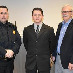 Covington's newest officer a returnee