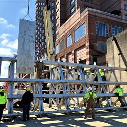 Piece by piece, floodgate takes shape