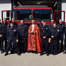 Covington Fire Department has New Fire Apparatus Blessed