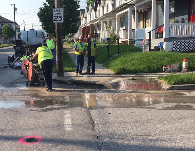 Phase 2 of Latonia Avenue rebuild under way