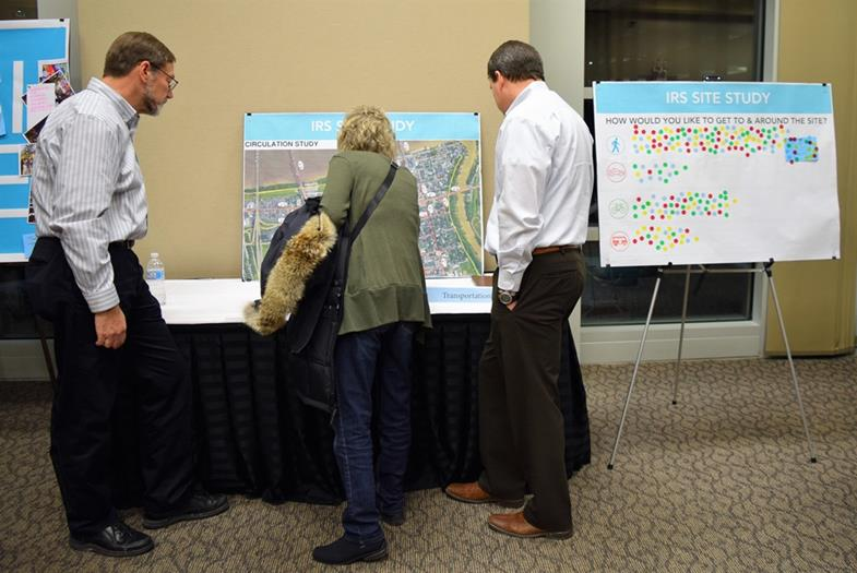 200 turn out for IRS site open house