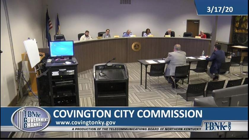 City Commission meetings closed to public
