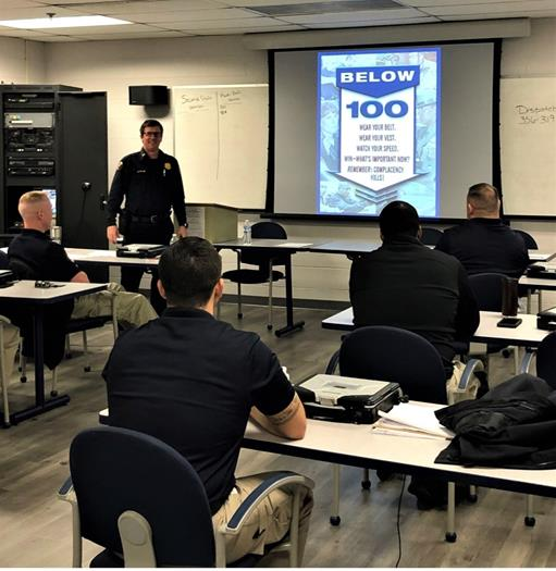 COVID-19 can't stop police training