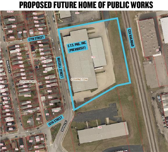 Public Works to get new home