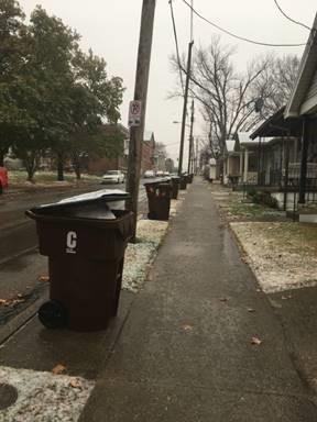 Garbage, recycling delayed part of New Year's week