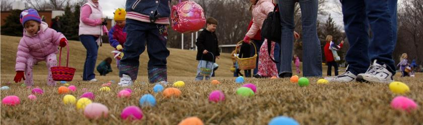 Annual Easter Egg Hunt, April 4, 2015